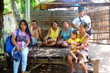 Among the beneficiaries of the Calao CIS are empowered women who worked with the men in instituting rules for the maintenance of the irrigation system.