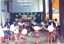Turnover ceremonies at Wangal, La Trinidad, Benguet during the birth of NIA-CAR in 1993